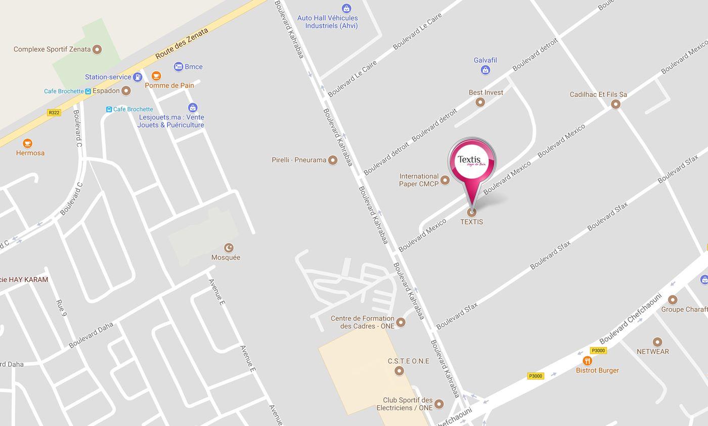 map | Contact | Textis